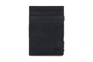 Magic Coin Wallet Garzini Essenziale - Carbon Black - 2