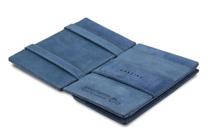 Magic Coin Wallet Garzini Essenziale - Sapphire Blue - 3