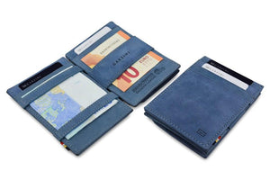 Magic Coin Wallet Garzini Essenziale - Sapphire Blue - 4