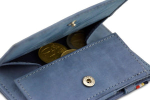 Magic Coin Wallet Garzini Essenziale - Sapphire Blue - 5