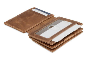 Magistrale Magic Coin Wallet Brushed - Brushed Brown - 4