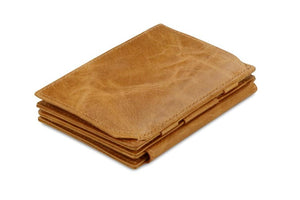 Magistrale Magic Coin Wallet Brushed - Brushed Cognac - 1