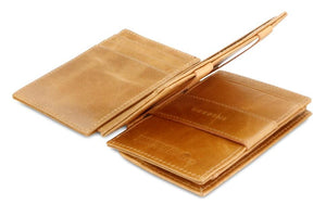 Magistrale Magic Coin Wallet Brushed - Brushed Cognac - 3