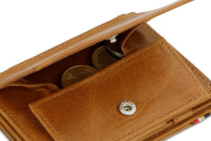 Magistrale Magic Coin Wallet Brushed - Brushed Cognac - 5