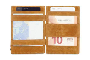 Magistrale Magic Coin Wallet Brushed - Brushed Cognac - 7