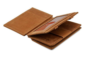 Magic Coin Wallet Garzini Magistrale - Camel Brown - 3