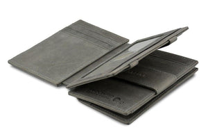 Magic Coin Wallet Garzini Magistrale - Metal Grey - 3