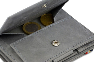Magic Coin Wallet Garzini Magistrale - Metal Grey - 5