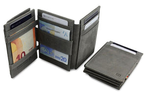 Magic Coin Wallet Garzini Magistrale - Metal Grey - 6