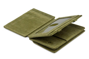 Magic Coin Wallet Garzini Magistrale - Olive Green - 3