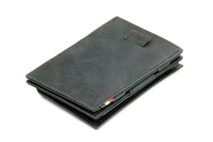 Cavare Magic Coin Wallet Card Sleeve Brushed - Brushed Black - 1