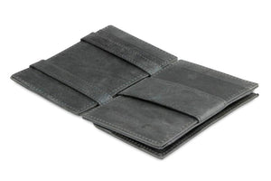 Cavare Magic Coin Wallet Card Sleeve Brushed - Brushed Black - 3