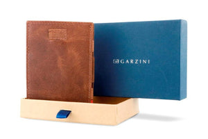 Cavare Magic Coin Wallet Card Sleeve Brushed - Brushed Brown - 7