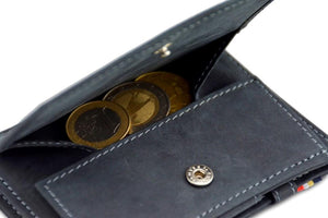 Cavare Magic Coin Wallet Card Sleeve Vintage - Carbon Black - 5