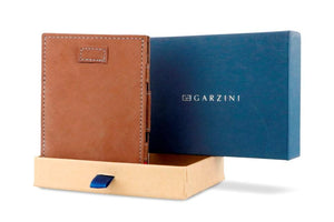 Cavare Magic Coin Wallet Card Sleeve Vintage - Camel Brown - 7