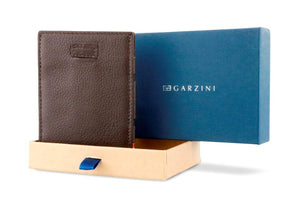 Cavare Magic Coin Wallet Card Sleeve Nappa - Chocolate Brown - 7