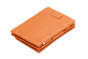 Cavare Magic Coin Wallet Card Sleeve Nappa - Cognac Brown - 1