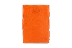 Cavare Magic Coin Wallet Card Sleeve Nappa - Cognac Brown - 2