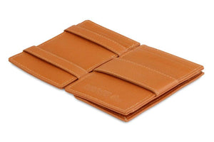Cavare Magic Coin Wallet Card Sleeve Nappa - Cognac Brown - 3