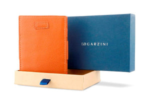 Cavare Magic Coin Wallet Card Sleeve Nappa - Cognac Brown - 7