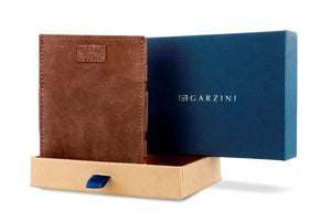 Cavare Magic Coin Wallet Card Sleeve Vintage - Java Brown - 7