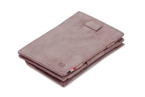 Cavare Magic Coin Wallet Card Sleeve Vintage - Metal Grey - 1