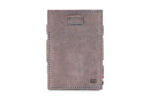 Cavare Magic Coin Wallet Card Sleeve Vintage - Metal Grey - 2