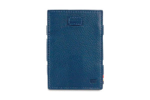 Cavare Magic Coin Wallet Card Sleeve Nappa - Navy Blue - 2
