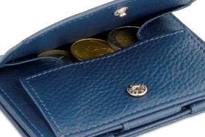 Cavare Magic Coin Wallet Card Sleeve Nappa - Navy Blue - 5