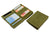 Cavare Magic Coin Wallet Card Sleeve Vintage - Olive Green - 4