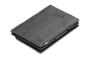 Cavare Magic Coin Wallet Card Sleeve Nappa - Raven Black - 1