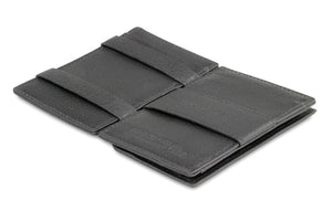Cavare Magic Coin Wallet Card Sleeve Nappa - Raven Black - 3