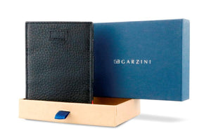 Cavare Magic Coin Wallet Card Sleeve Nappa - Raven Black - 7