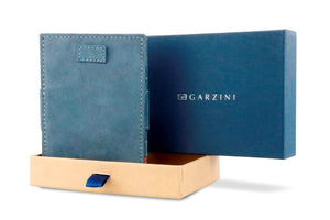 Cavare Magic Coin Wallet Card Sleeve Vintage - Sapphire Blue - 7