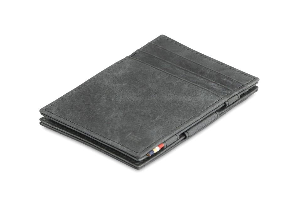 Essenziale Magic Wallet Brushed - Brushed Black - 1