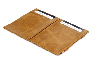 Essenziale Magic Wallet Brushed - Brushed Cognac - 4
