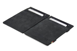 Magic Wallet Garzini Essenziale - Carbon Black - 4