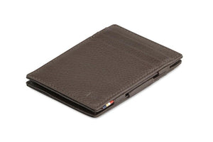 Magic Wallet Garzini Essenziale Nappa - Chocolate Brown - 1