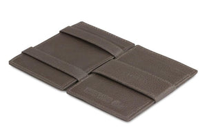 Magic Wallet Garzini Essenziale Nappa - Chocolate Brown - 3