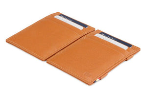 Magic Wallet Garzini Essenziale Nappa - Cognac Brown - 4