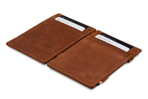 Magic Wallet Garzini Essenziale - Java Brown - 4
