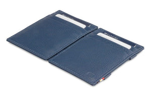 Magic Wallet Garzini Essenziale Nappa - Navy Blue - 4