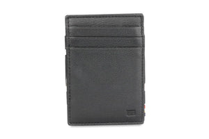 Magic Wallet Garzini Essenziale Nappa - Raven Black - 2