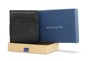 Magic Wallet Garzini Essenziale Nappa - Raven Black - 7
