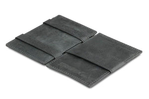 Essenziale Magic Wallet ID Window Brushed - Brushed Black - 3