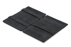 Magic Wallet Garzini Essenziale ID Window - Carbon Black - 3