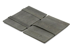 Magic Wallet Garzini Essenziale ID Window - Metal Grey - 3
