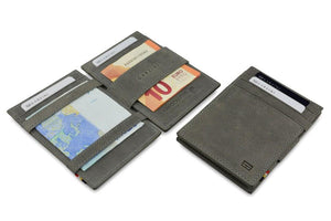 Magic Wallet Garzini Essenziale ID Window - Metal Grey - 5