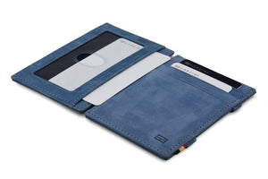 Magic Wallet Garzini Essenziale ID Window - Sapphire Blue - 4