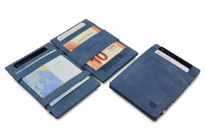 Magic Wallet Garzini Essenziale ID Window - Sapphire Blue - 5